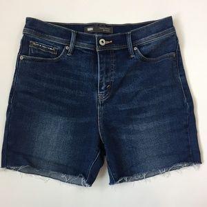 Levi's High Waist Cut-Off Jean Shorts, Size 8